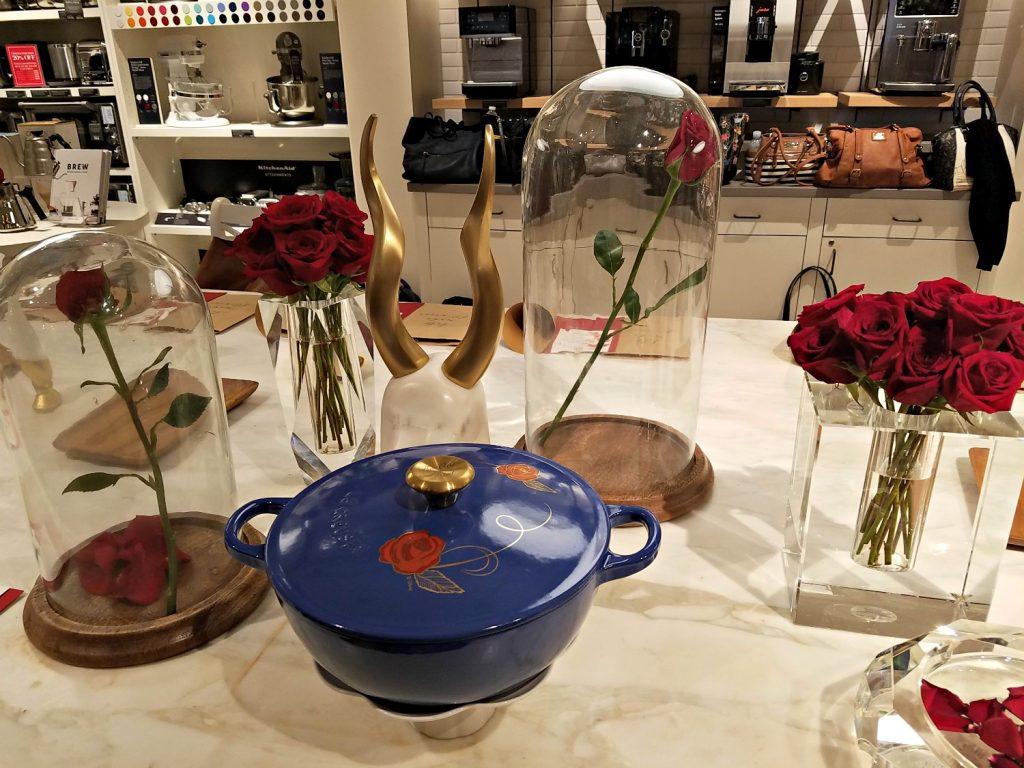 """""""Be Our Guest"""" Soup Pot by Le Creuset"""