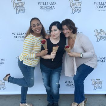 Beauty And The Beast Inspired Festivities at Williams Sonoma
