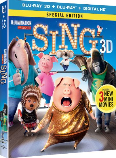 Sing Blu-ray Artwork