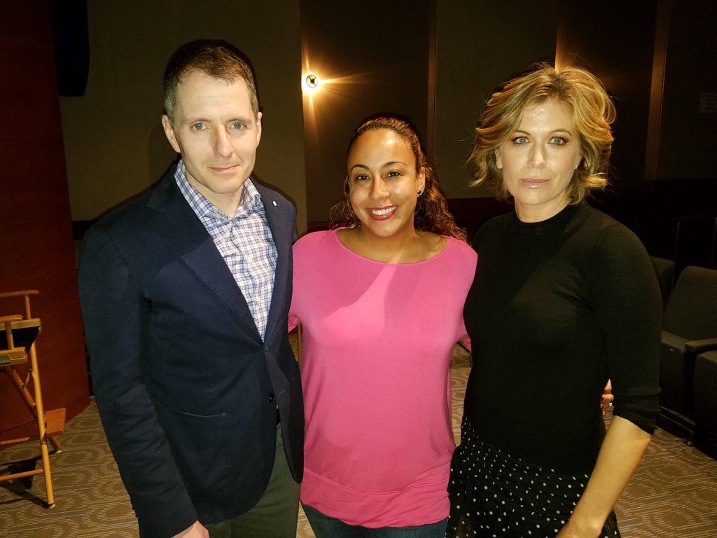 Sonya Walger, Allan Heinberg and Leanette Fernandez