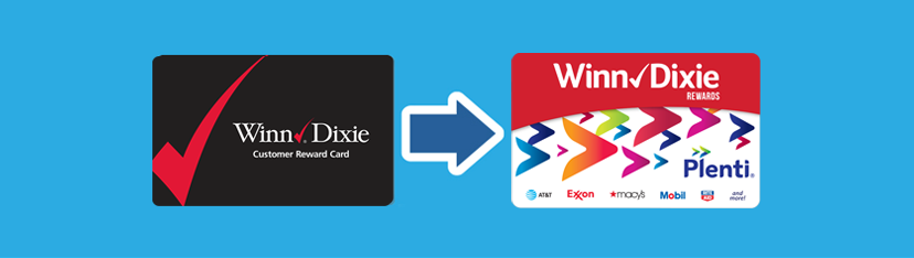 Winn-Dixie Rewards to Plenti