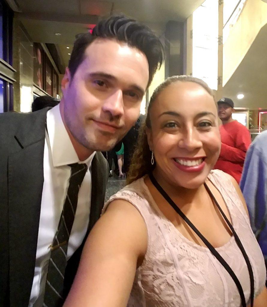 Brett Dalton and Leanette Fernandez - April 2017