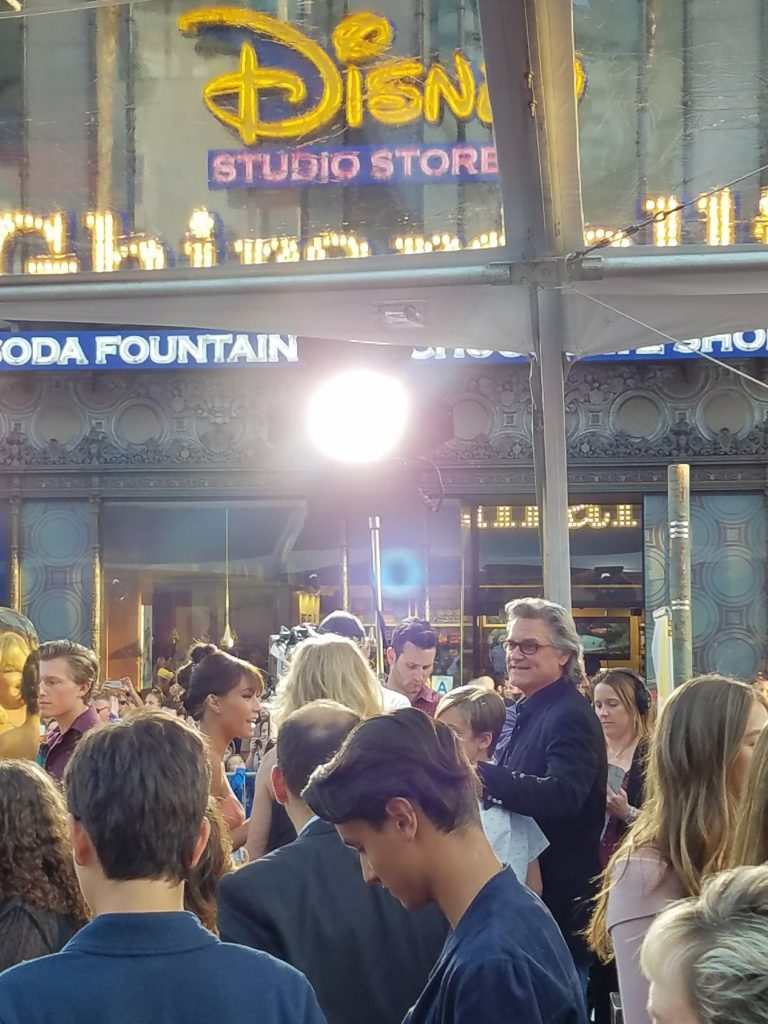Kurt Russell at the Guardians of the Galaxy Vol 2 World Premiere