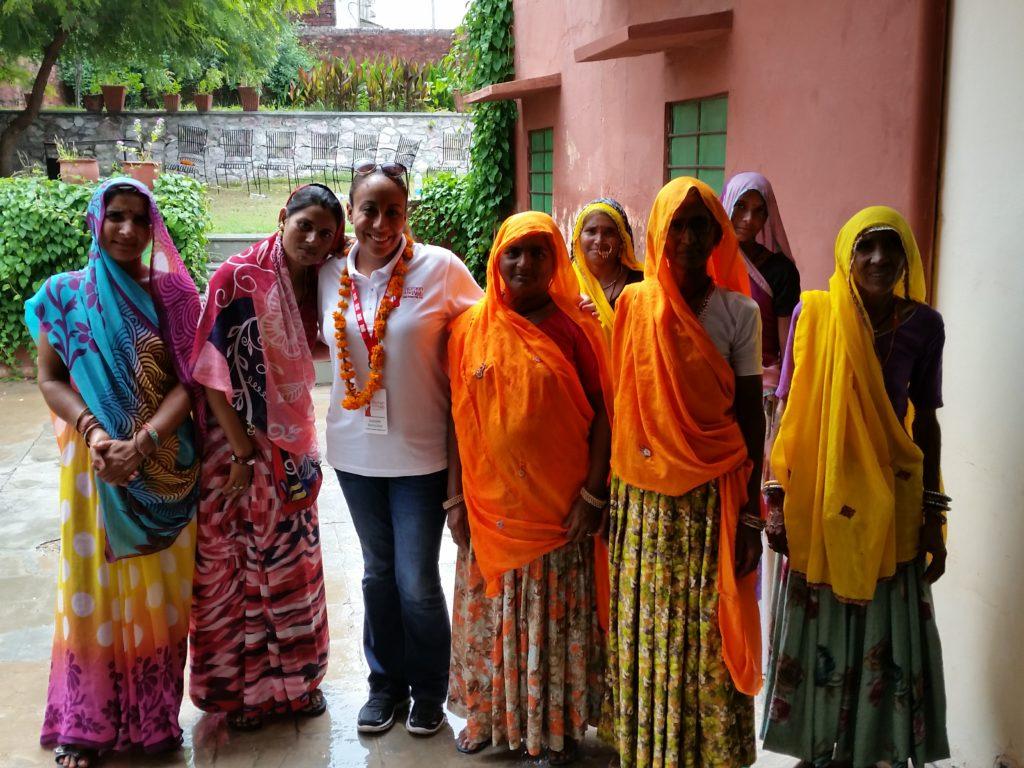 Leanette Fernandez in Soda Village, India