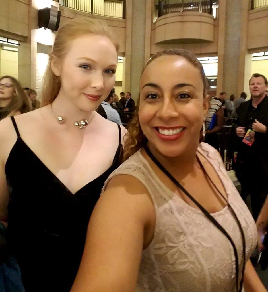 Molly Quinn and Leanette Fernandez