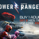 Special Power Rangers Promo Offer Available on Atom Tickets This Weekend