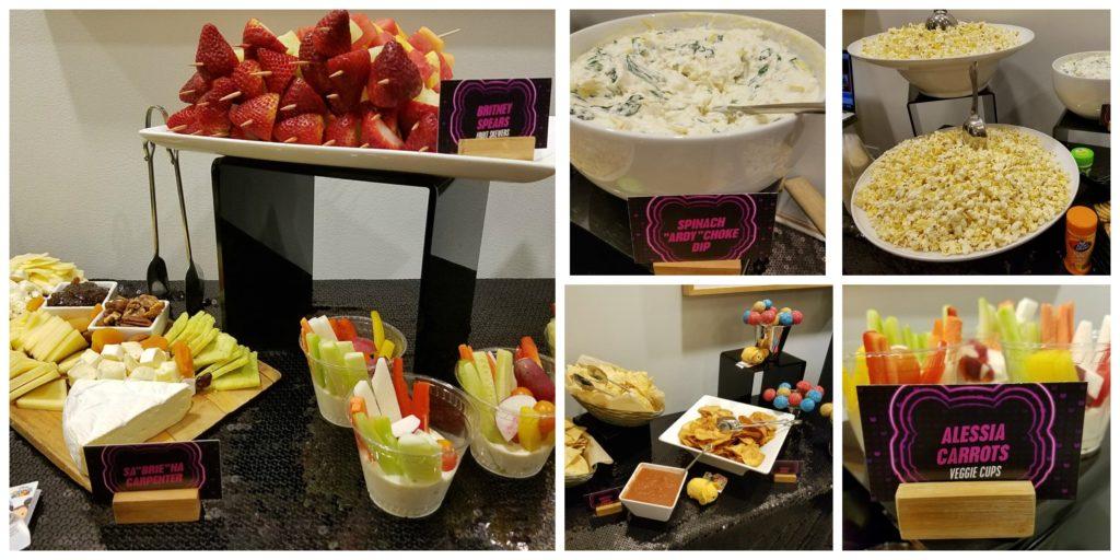 Radio Disney Music Awards Food Collage