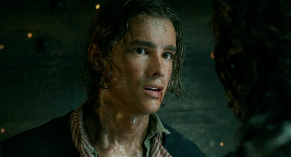 Brenton Thwaites in Pirates of the Caribbean Dead Men Tell No Tales 2