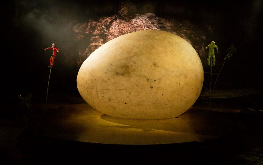 Cirque Du Soleil's OVO - egg prop