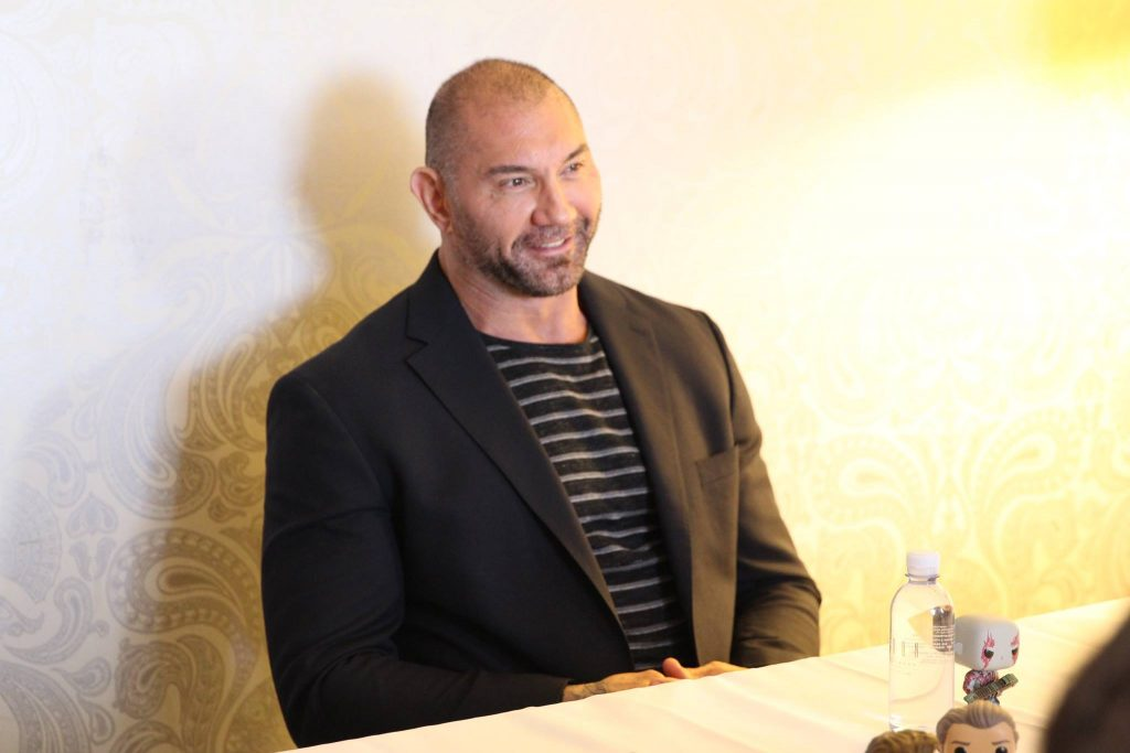 Dave Bautista Guardians of the Galaxy Vol 2 Interview