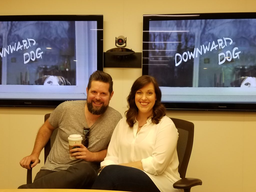 Downward Dog Interview with Allison Tolman and Samm Hodges