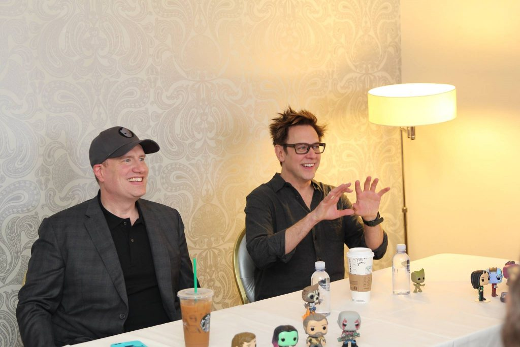 James Gunn & Kevin Feige Guardians of the Galaxy Vol 2 Interview