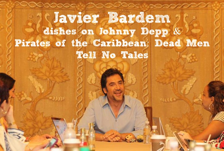 Javier Bardem Pirates of the Caribbean Dead Men Tell No Tales Interview