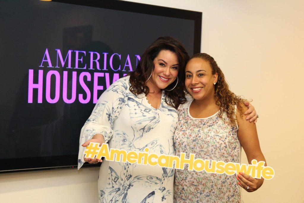Katy Mixon and Leanette Fernandez
