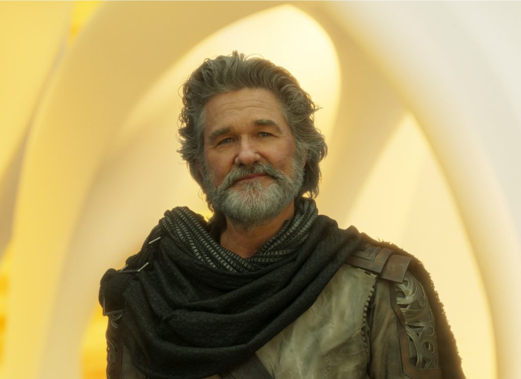 Kurt Russell as Ego