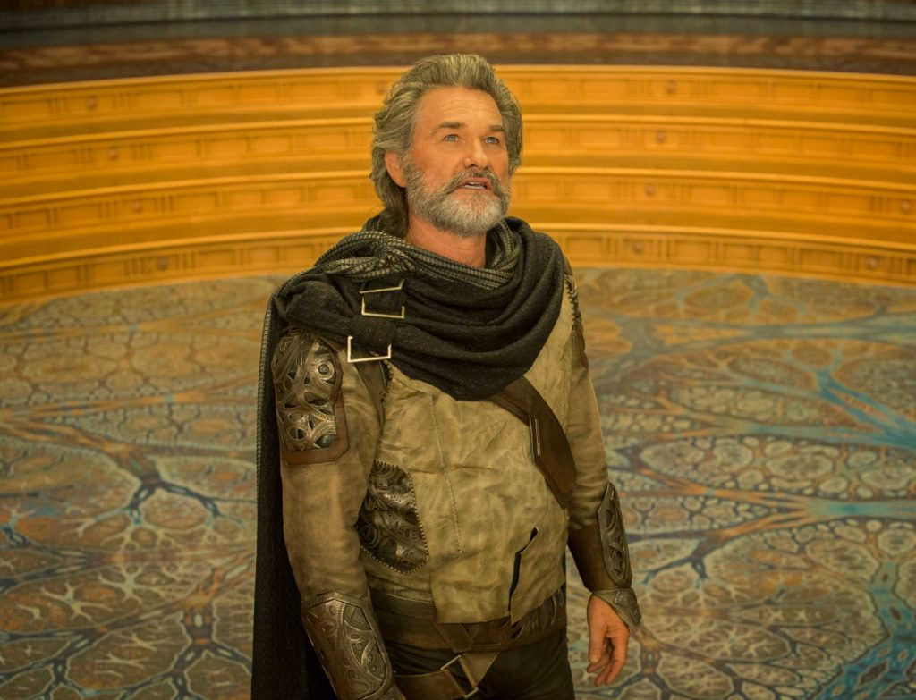 Kurt Russell as Ego in GOTGVol2