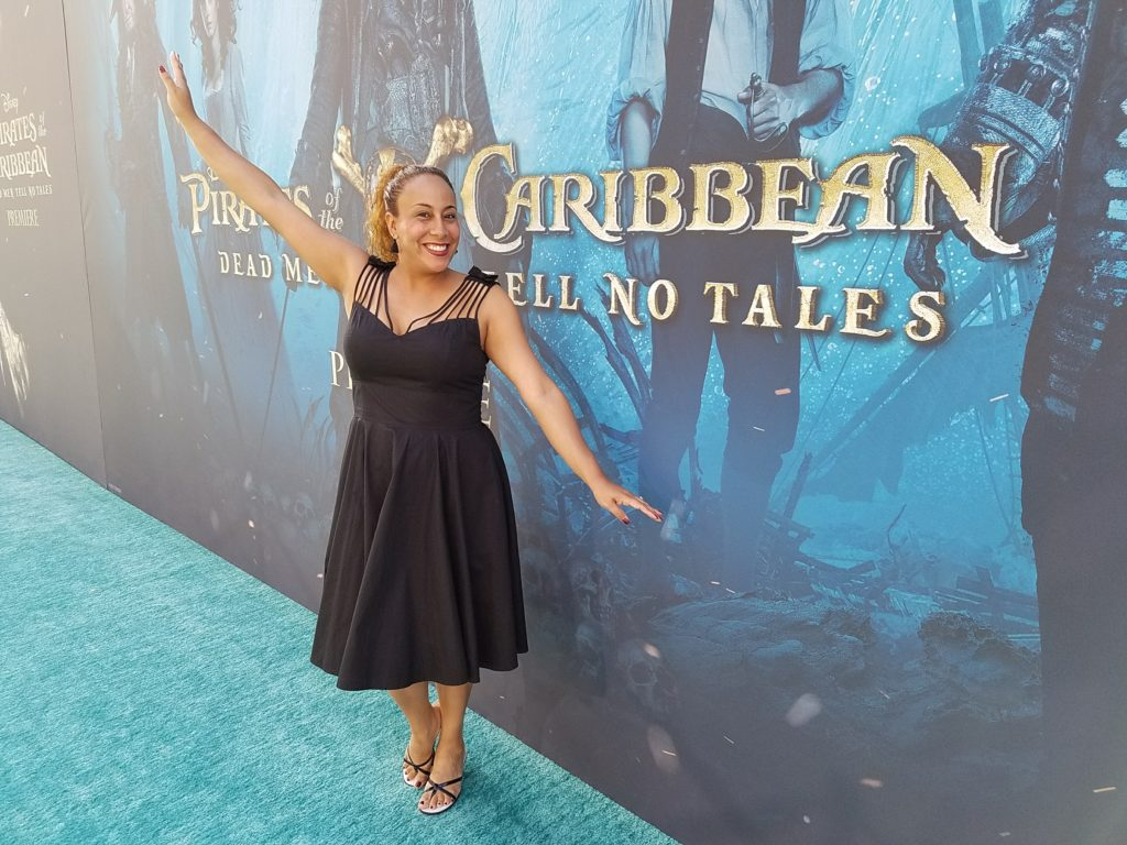 Leanette Fernandez at the Pirates of the Caribbean Premiere