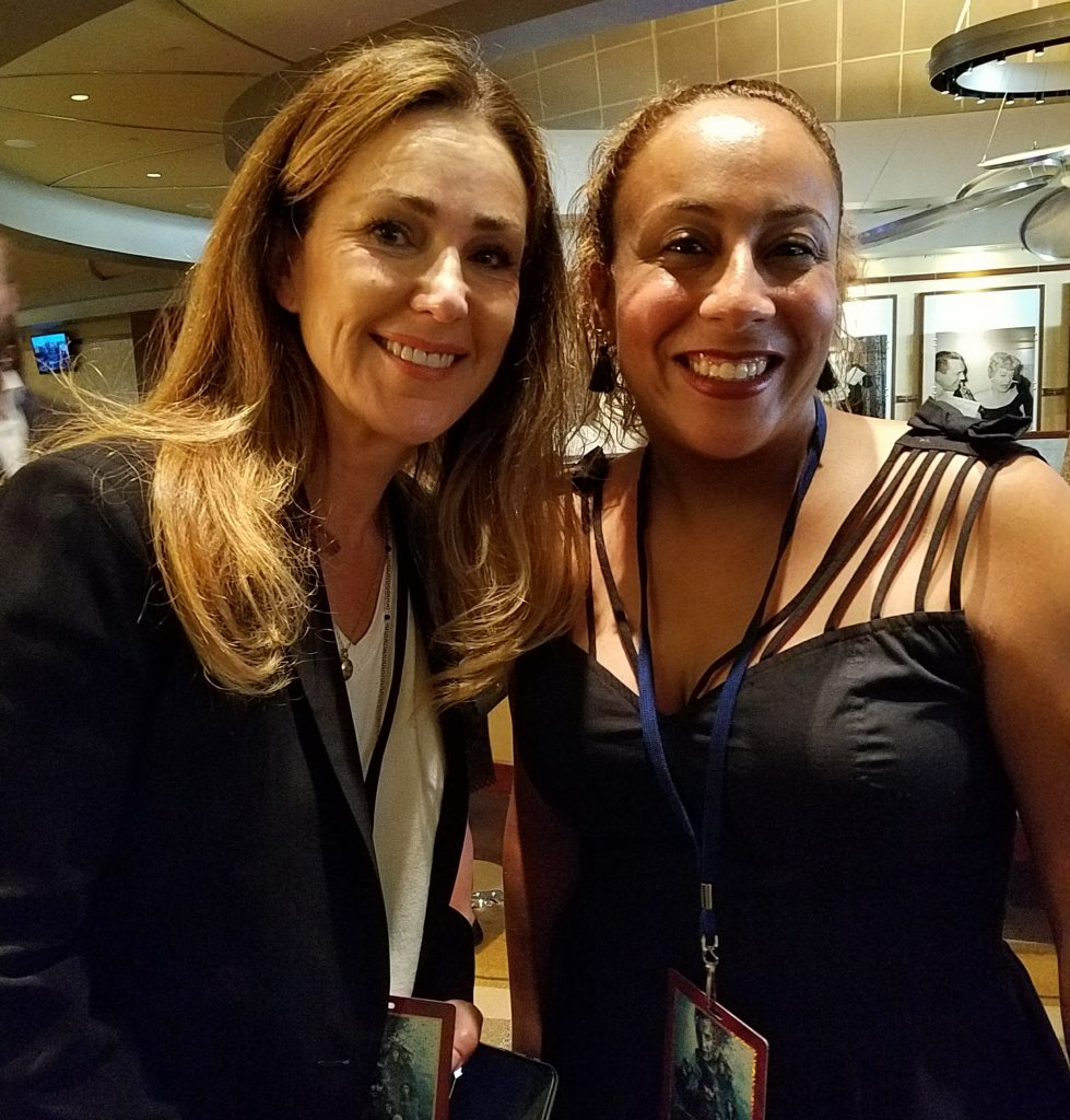 Peri Gilpin and Leanette Fernandez
