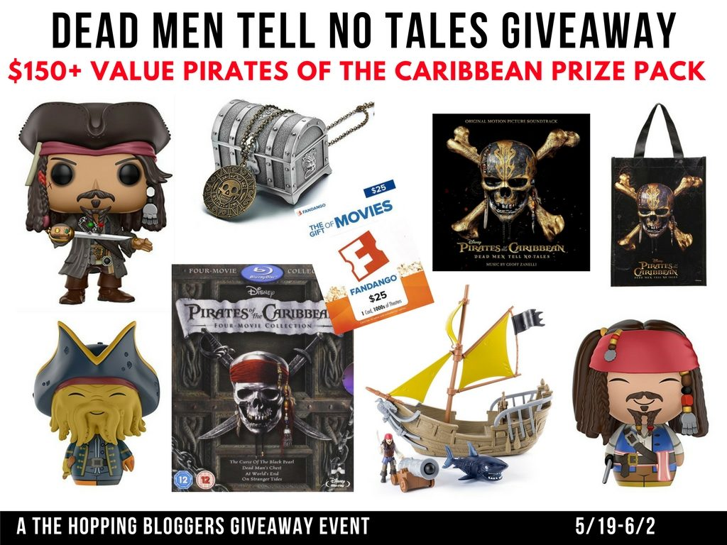 Pirates of the Caribbean Dead Men Tell No Tales Giveaway