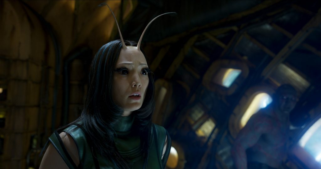 Guardians Of The Galaxy Vol. 2 Mantis (Pom Klementieff) Ph: Film Frame ©Marvel Studios 2017