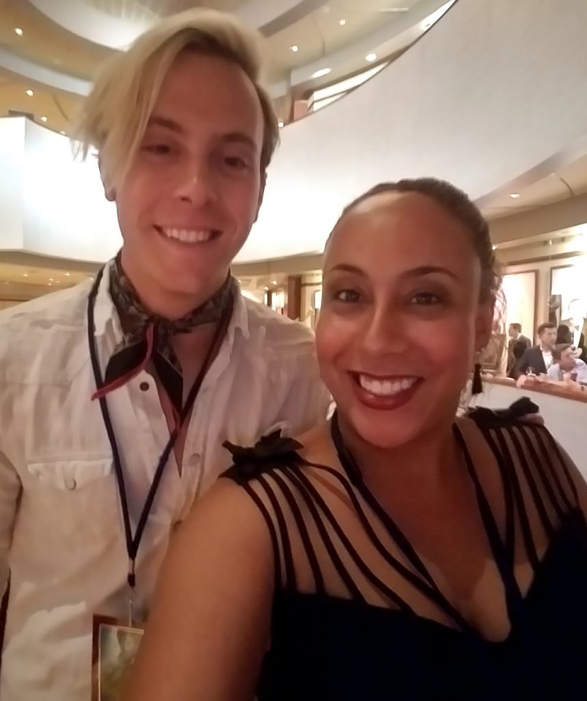 Riker Lynch and Leanette Fernandez