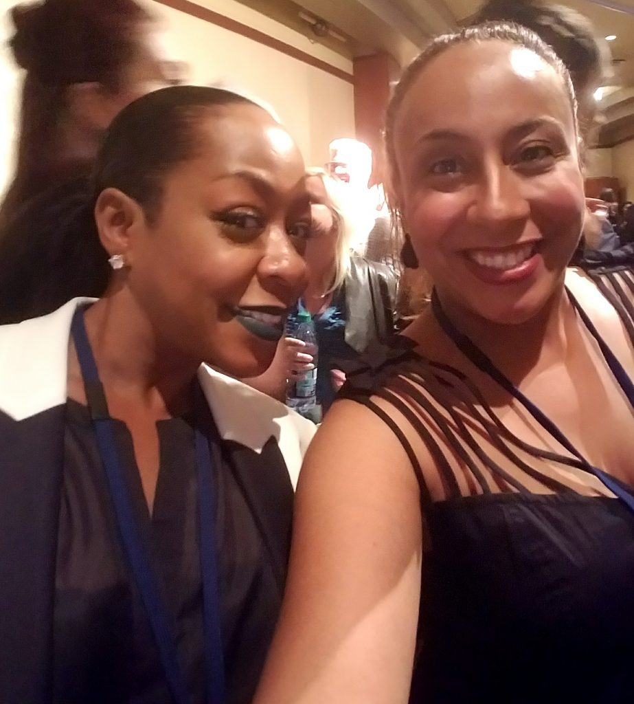 Tichina Arnold and Leanette Fernandez