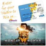 Wonder Woman $50 Visa Gift Card Giveaway