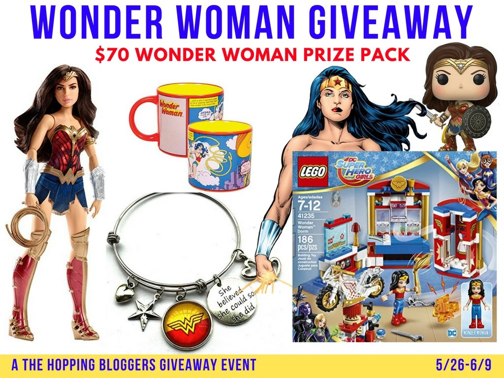 Wonder Woman Prize Pack Giveaway