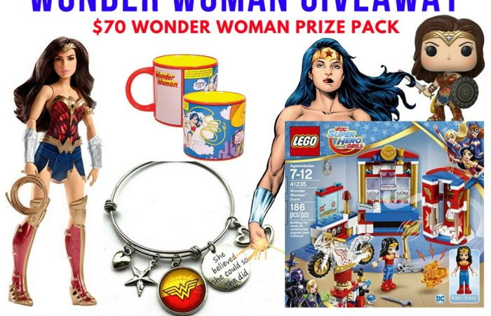 Wonder Woman Prize Pack Giveaway