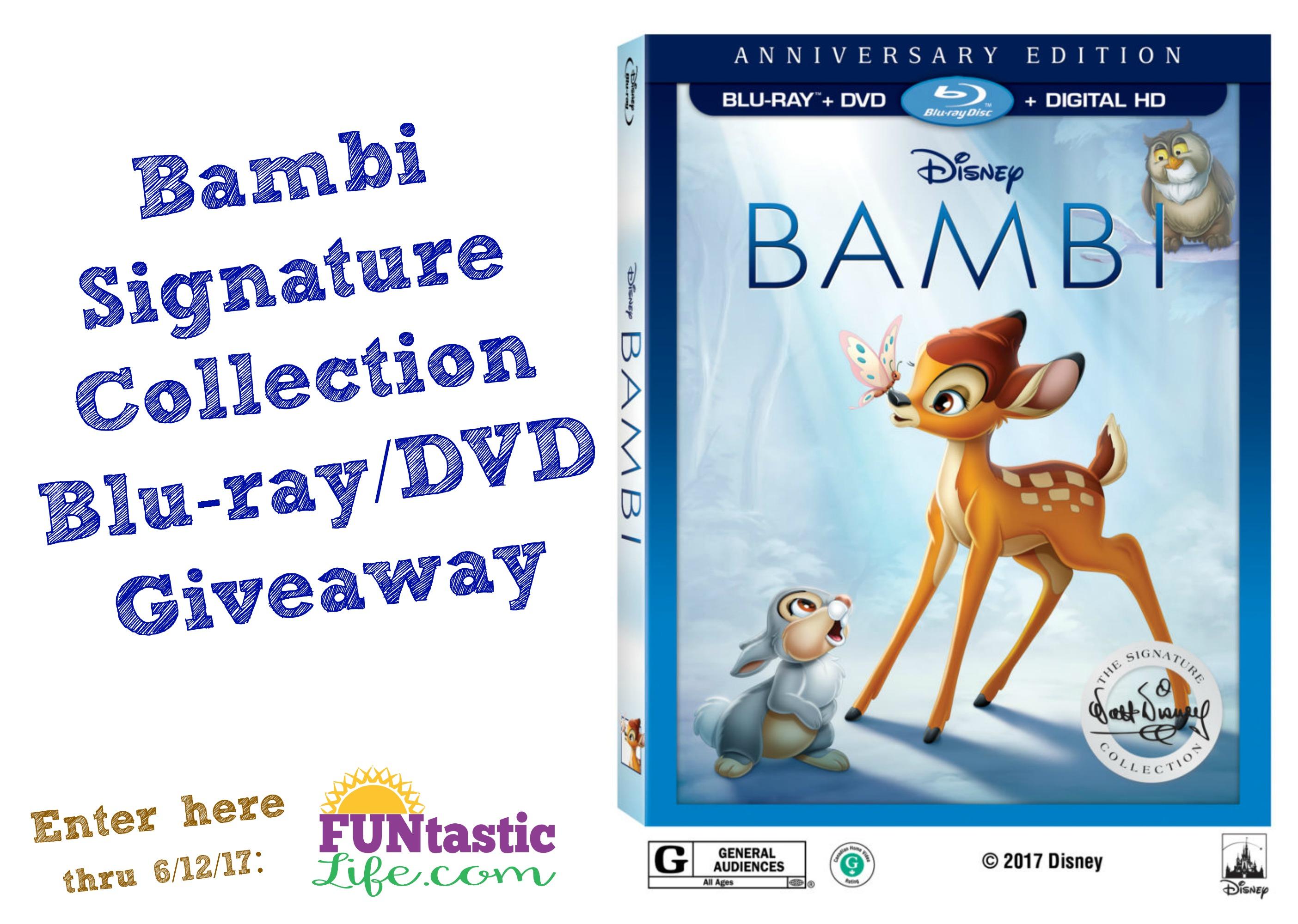 Bambi (Blu-ray), Best Buy exclusive | Disney movie club