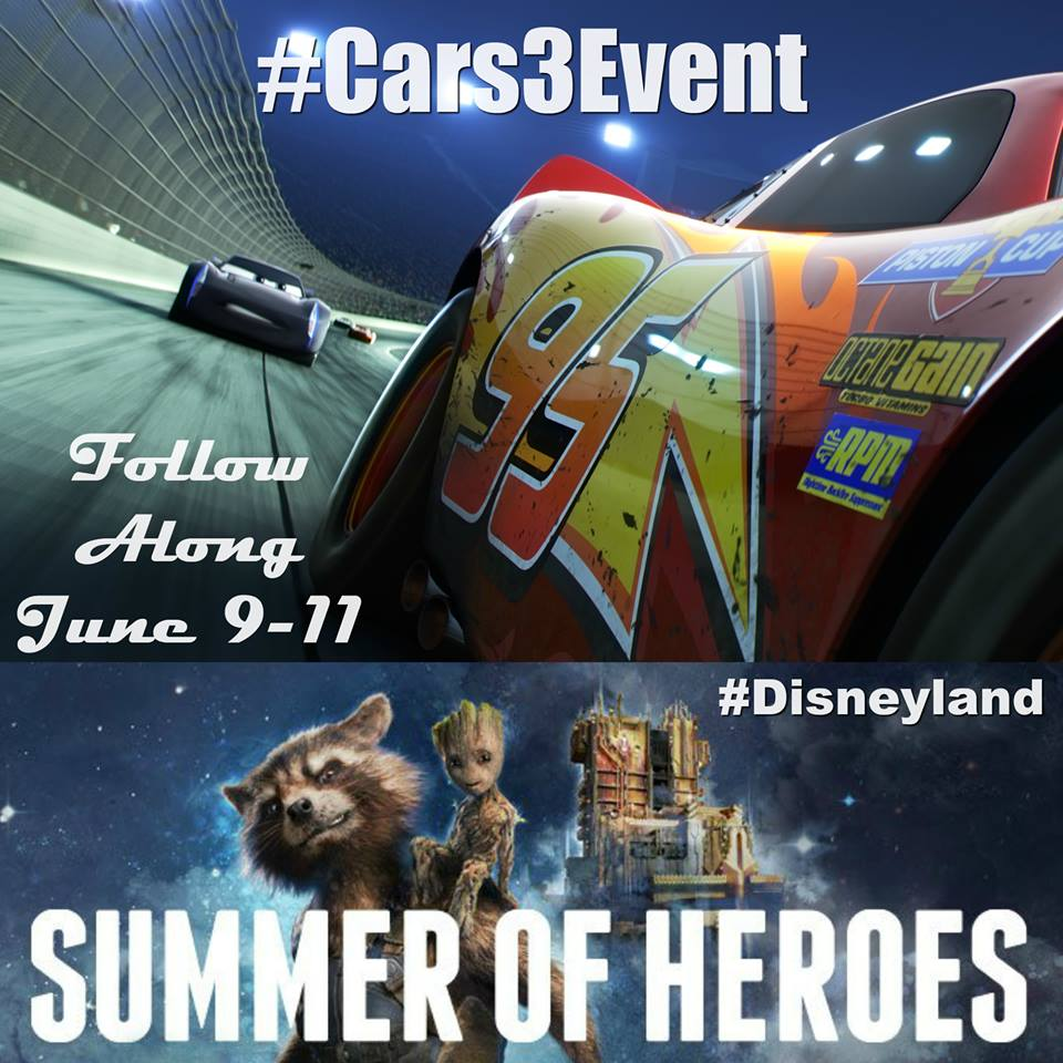 Cars 3 Event Button