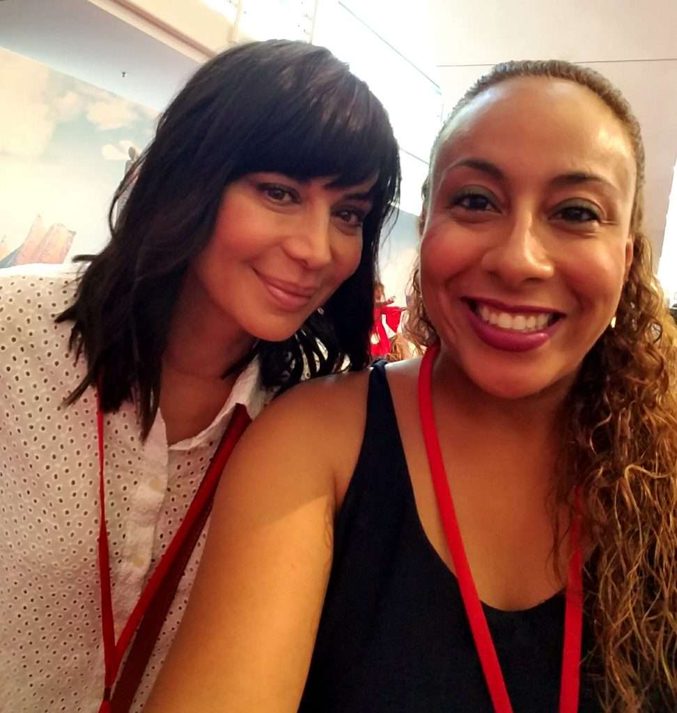 Catherine Bell and Leanette Fernandez
