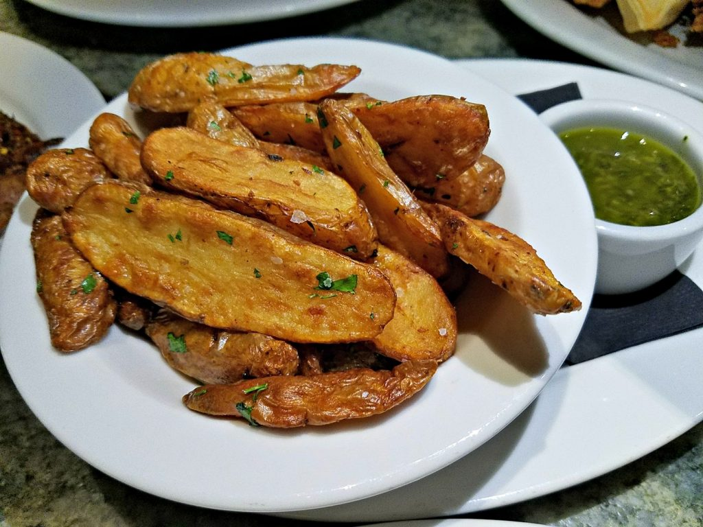 Crispy Fingerling Potatoes at Tanzy Restaurant