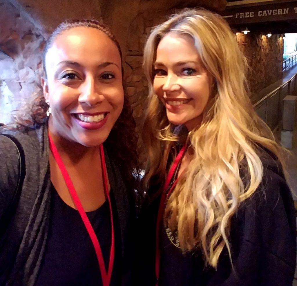 Denise Richards and Leanette Fernandez