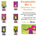 Despicable Me 3 Thinkway Toys Prize Pack Giveaway