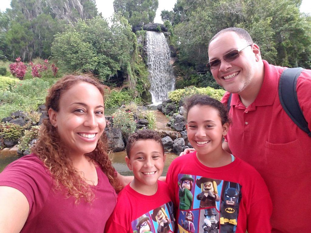 Fernandez Family at Legoland