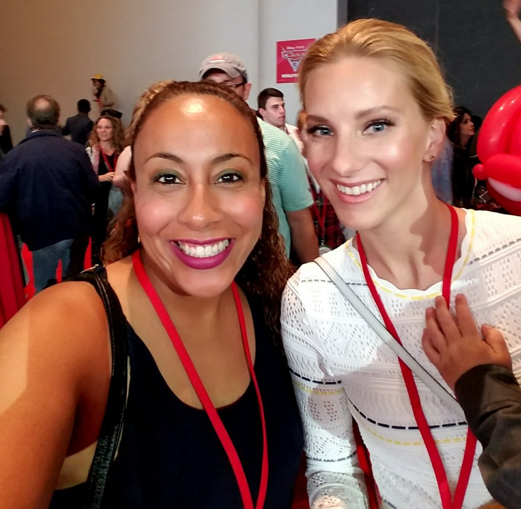 Heather Morris and Leanette Fernandez