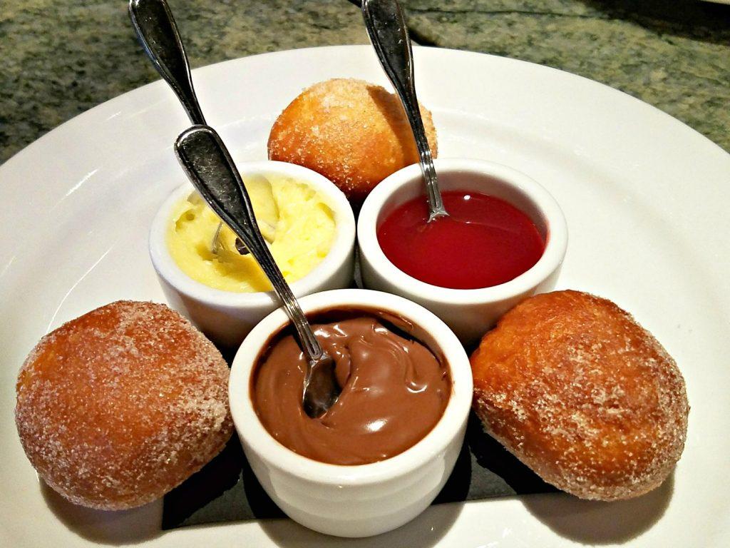 Italian Donuts at Tanzy Restaurant