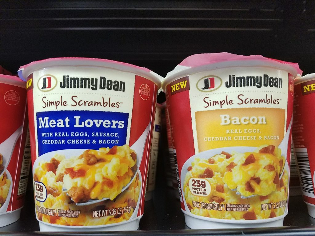 Jimmy Dean Simple Scrambles at Walmart