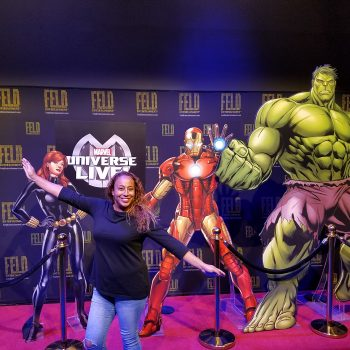 My Marvel Universe LIVE! Behind the Scenes Experience
