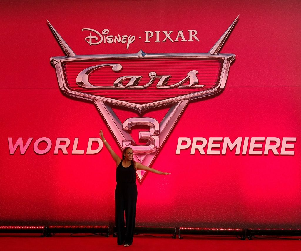 Leanette Fernandez at the Cars 3 World Premiere Red Carpet Event