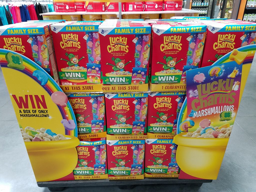 Lucky Charms Marshmallow Only Display