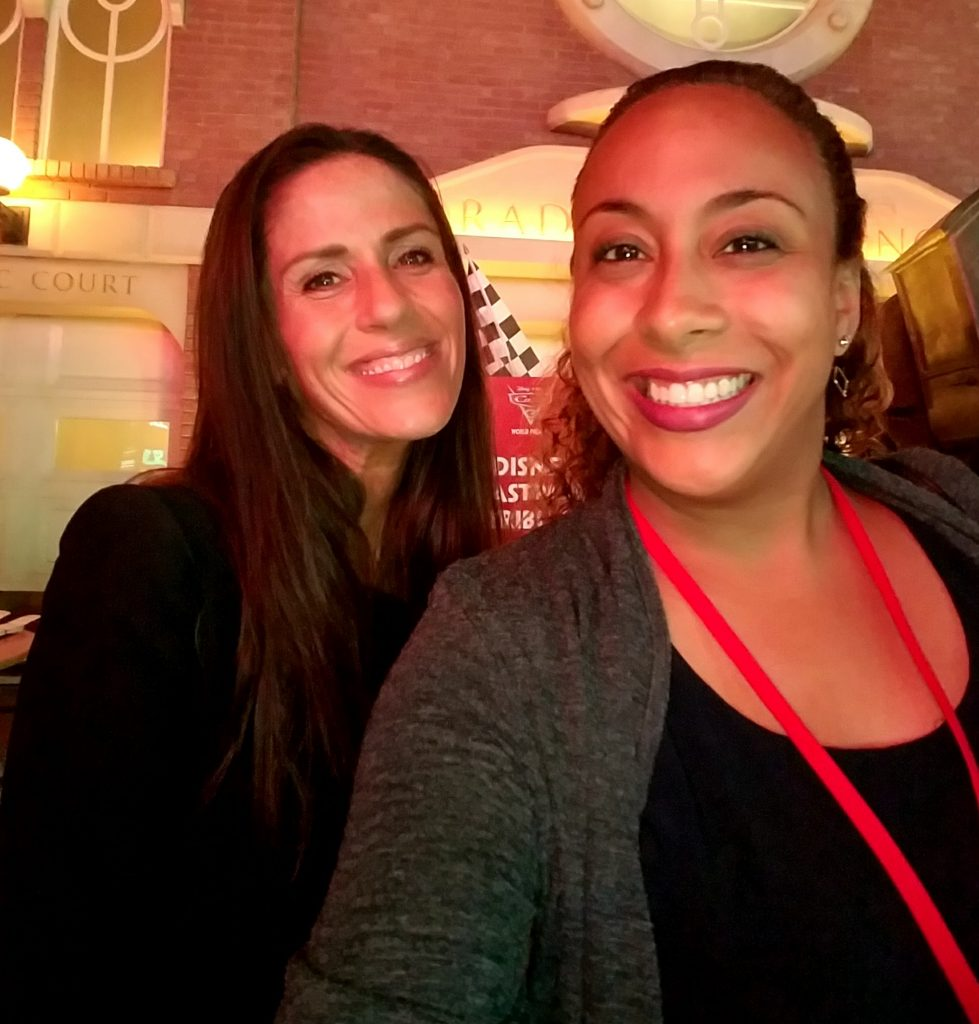 Soleil Moon Frye and Leanette Fernandez