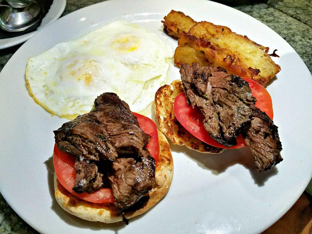 Steak & Eggs at Tanzy Restaurant