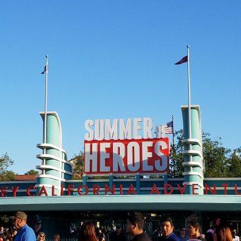 5 Things You Can Enjoy During Disneyland California Adventure's Summer of Heroes