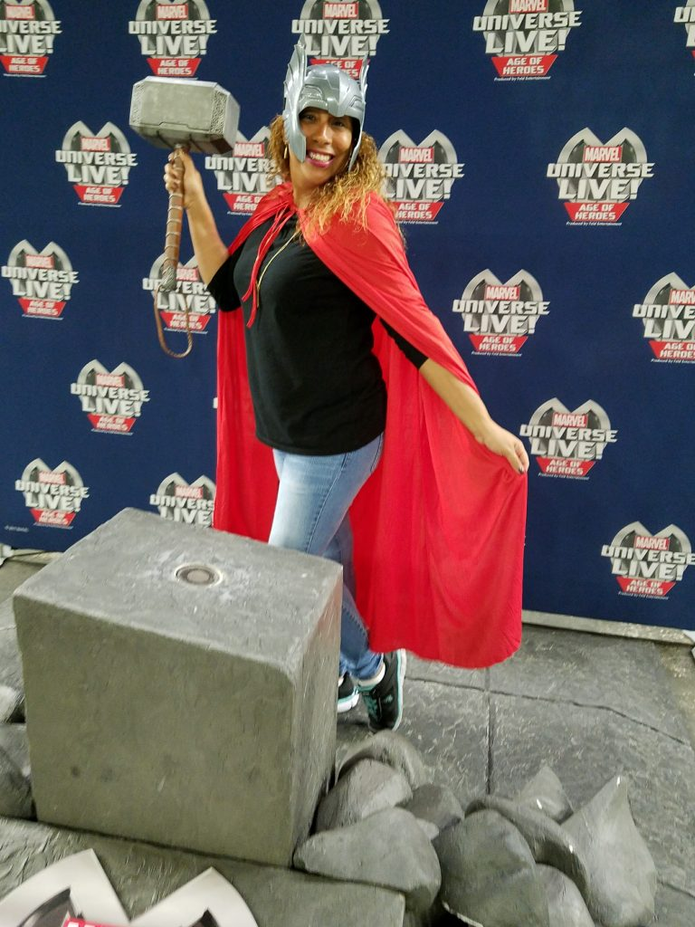 Thor's Hammer for My Marvel Universe LIVE!