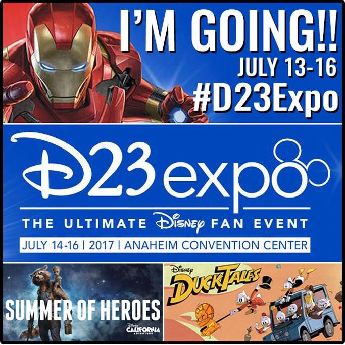 2017 D23 Expo Button
