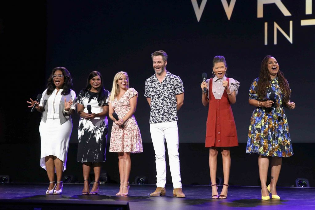 A Wrinkle In Time Talent on the D23 Expo Stage 2017