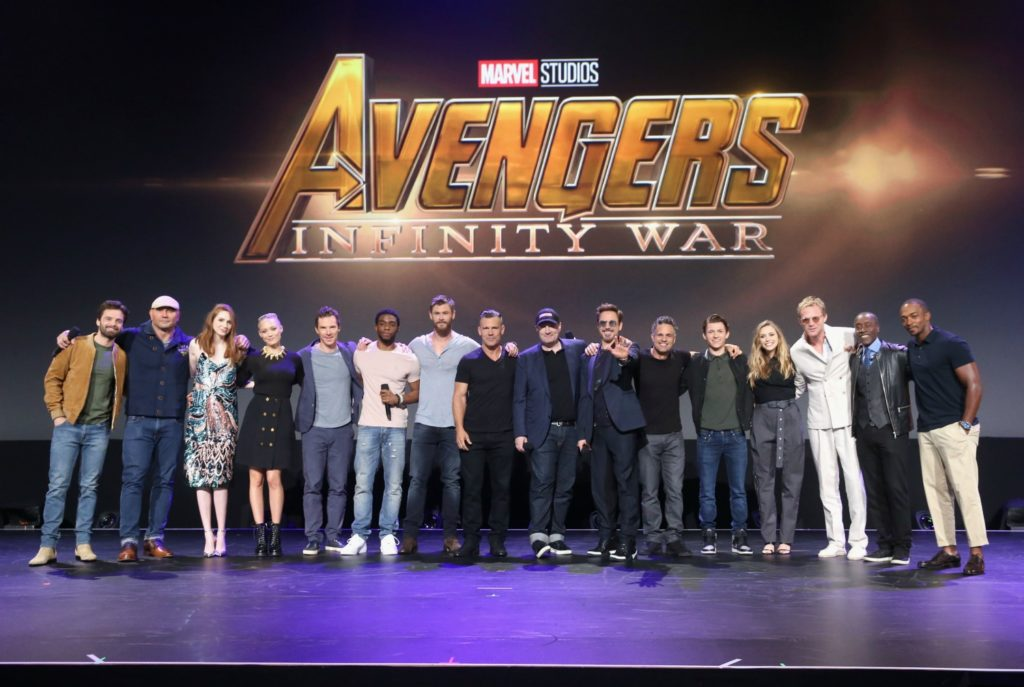 Avengers Infinity War Talent at D23 Expo 2017