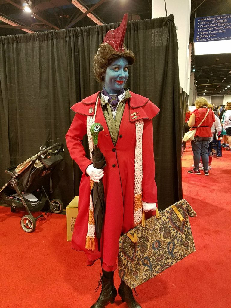 D23 Expo Fan Dressed up